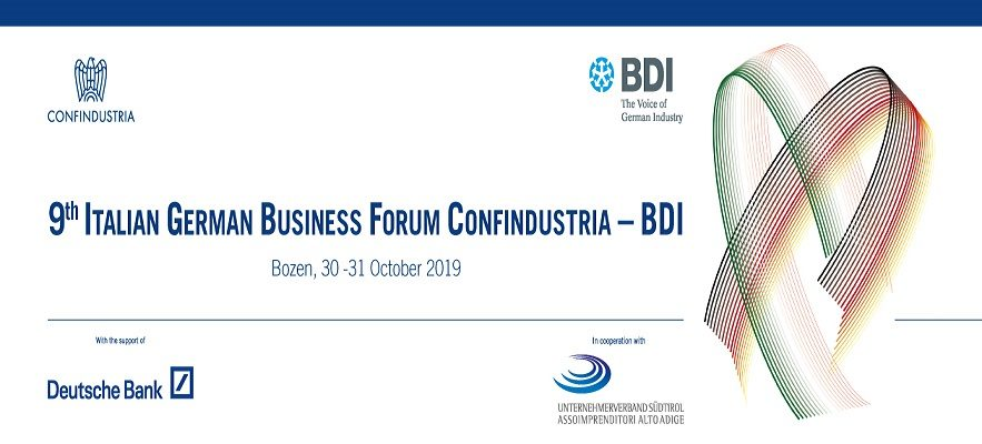 IX Business Forume Confindustria – BDI