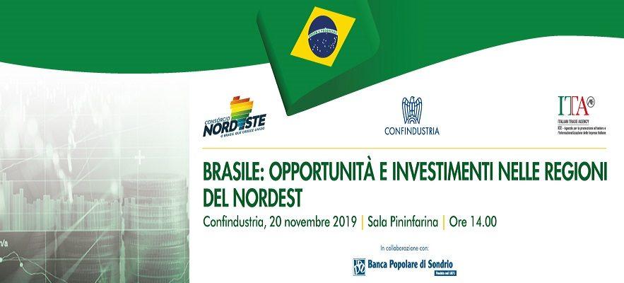 Brasile : Opportunità E Investimenti Nelle Regioni Del Nordest